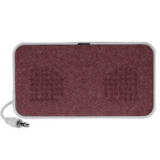 Red Retro Cardboard Colorful Texture Pattern Speaker