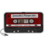 Red Retro Mixtape Cassette Personalised Speaker