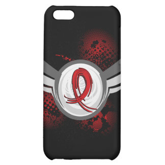 Red Ribbon And Wings Blood Cancer iPhone 5C Case