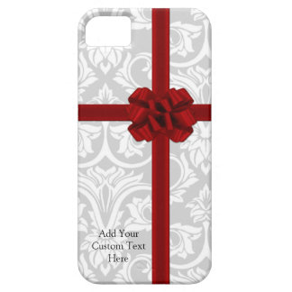 Red Ribbon Bow iPhone 5 Cases