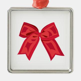 Red Ribbon Christmas Tree Ornament