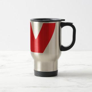 Red Ribbon Mugs