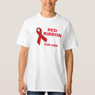 Red Ribbon Tee for AIDS