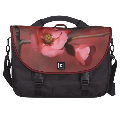 Red Rich Flower Rickshaw Commuter Bag