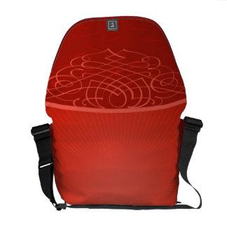 Red Rickshaw Messenger Bag