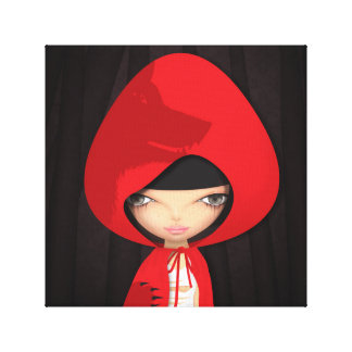 red riding hood gallery wrap canvas