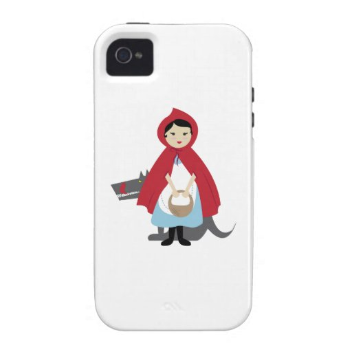 Red Riding Hood Vibe iPhone 4 Covers