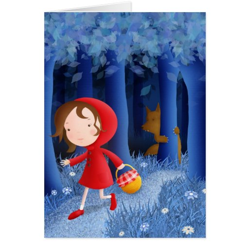 Red Riding Hood - greeting cards