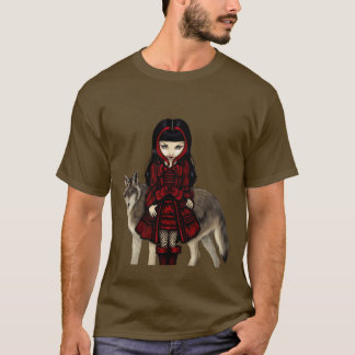 Red Riding Hood in Autumn wolf Shirt