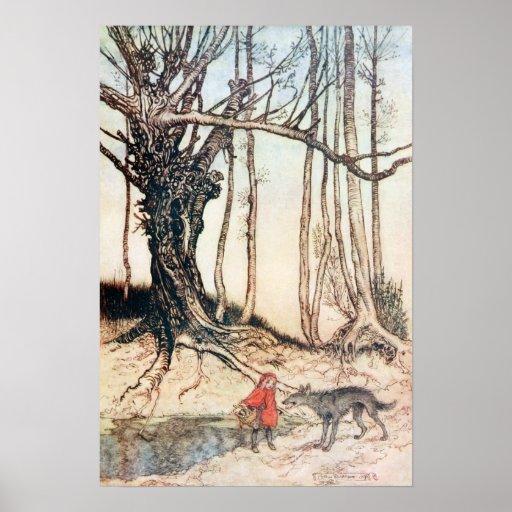 Red Riding Hood Print