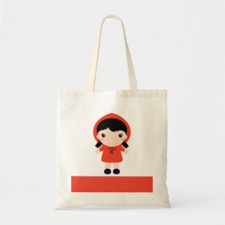 Red riding hood : red and natural bag