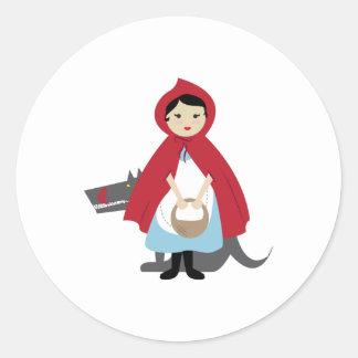 Red Riding Hood Sticker