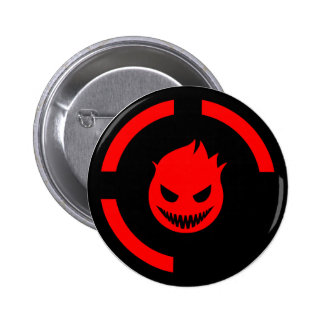 Red Ring of Death 6 Cm Round Badge