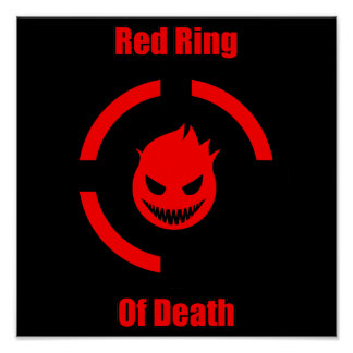 Red Ring of Death Poster