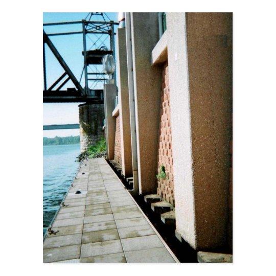 Red River Dock Postcard