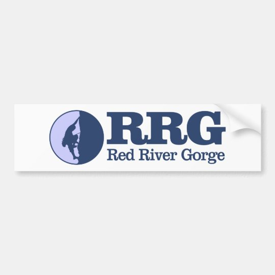 Red River Gorge (Climbing) Bumper Sticker