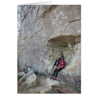 Red River Gorge, KY - Angel's Window 2 postcard