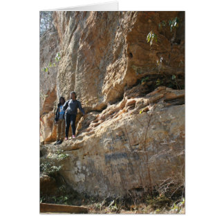 Red River Gorge, KY - Skybridge notecards Card