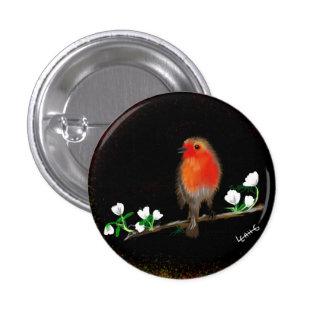 Red Robin badges and pins, original art drawing