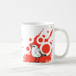 Red Robin Coffee Mug