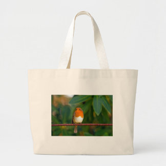 Red ROBIN Large Tote Bag
