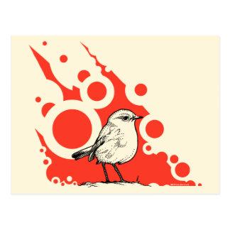 Red Robin postcard