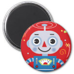 red robot magnet