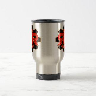 Red Robot Travel Mug
