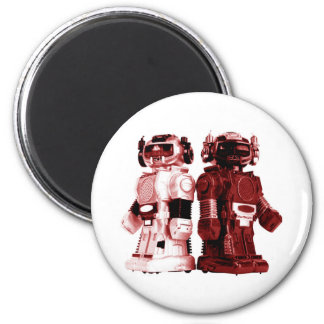 red robots magnets