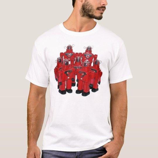 Red Robots Shirt