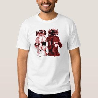 red robots t-shirt