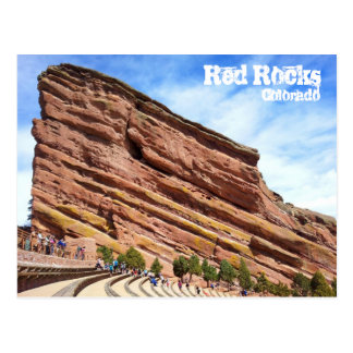 Red Rock Amphitheater Postcard