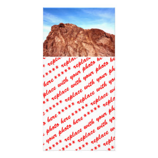 Red Rock At Hoover Dam Photo Cards