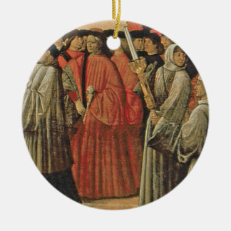 Red rock, c.1895 (oil on canvas) 2 christmas ornament