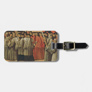 Red rock, c.1895 (oil on canvas) 2 luggage tag