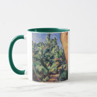 Red rock, c.1895 (oil on canvas) mug