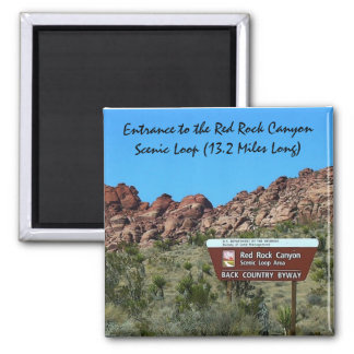 "Red Rock Canyon 2"" Magnet"