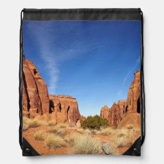 Red Rock Canyon Drawstring Bag