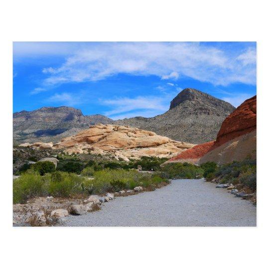 Red Rock Canyon-Las Vegas Nevada Postcard