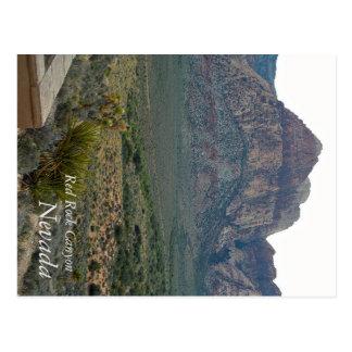 Red Rock Canyon, Nevada - Postcard