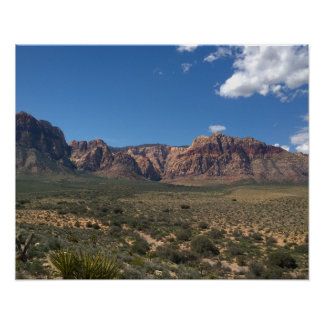Red Rock Canyon, Nevada Poster