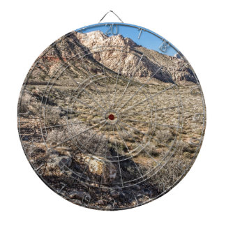 Red Rock Canyon View Dartboard With Darts