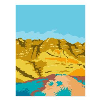 Red Rock Canyon WPA Postcard