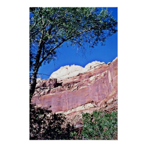 Red Rock Country - Capitol Reef National Park Poster