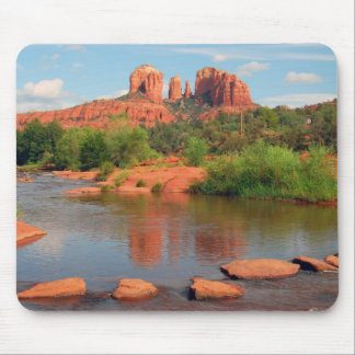 Red Rock Crossing mousepad
