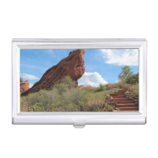 Red Rock Formation Business Card Case