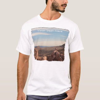 Red Rock Landscape; Customizable T-Shirt