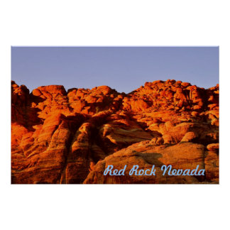 Red Rock,Nevada Poster