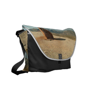 Red Rock Welcome; No Text Messenger Bag