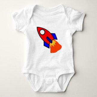 Red rocket animation cartoon illustration tshirts